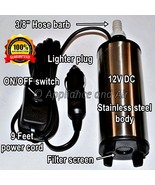 "Stainless RV Camper Submersible Water Transfer Pump for 3/8"" Food-Grade ... - $64.90"