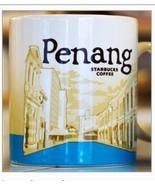 STARBUCKS PENANG ISLAND MALAYSIA Coffee Mug 16oz Global Icon City Collector - $60.90