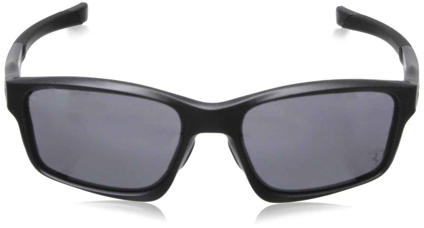 b64096e72f Oakley Chainlink Ferrari Sunglasses OO9252-10 Matte Steel W  Black Iridium