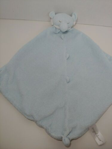 Primary image for Angel Dear plush blue elephant Baby Security Blanket Lovey knotted toy