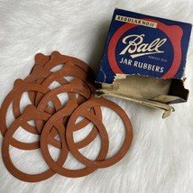 Vintage Ball Regular Mouth No.11 Jar Rubbers Set of 9 (box is torn) - $3.99