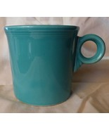 1989-2005 Homer Laughlin Fiesta Ring Handle Mug Solid Sea Mist Green #109  - $30.00