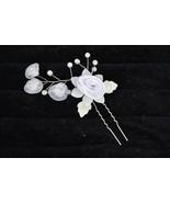 Bridal hair clip Hair Band hair brooch Headwear crystal floral and pearl... - $4.99