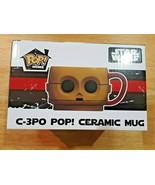 FUNKO POP! HOME  EXCLUSIVE STAR WARS C-3PO CERAMIC MUG NEW! - $4.94