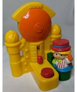 Fisher Price Little People Carnival Bell Ring McDonald's Under 3 toy Hap... - $5.89