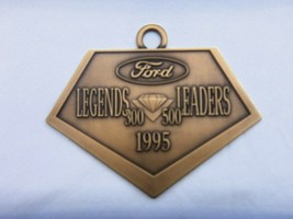 FORD MOTOR COMPANY LEGENDS LEADERS 1995  BRASS MEDAL - $19.75