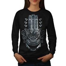 Ethnic Illuminati Jumper Pagan Eye Women Sweatshirt - $18.99
