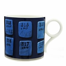 WEDGWOOD 250TH ANNIVERSARY TAB COFFEE MUG (S) NIB - $60.76