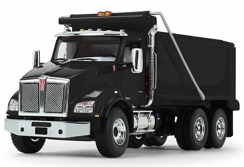 BLACK  KENWORTH DUMP TRUCK FIRST GEAR 50-3468 1/50 SCALE - $89.05