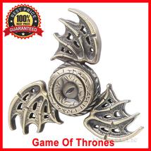 Fidget Toy Game of Thrones Dragon Eye Hand Spinner Metal Finger Stress Toy EDC - $9.89