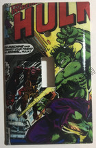 Hulk Comic Book Light Switch Duplex Outlet Wall Cover Plate & more Home decor image 1