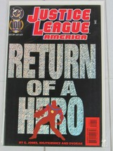 JUSTICE LEAGUE OF AMERICA #100 VOL 2 JLA DC HOLO COVER JUNE 1995 - C4979 - $2.99