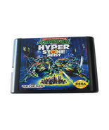 sega game cartridge with game  teenage mutant ninja turtles hyper stone ... - $25.99