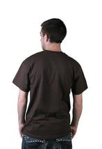 Milkcrate Athletics Mens Chocolate Brown Blunt Weed Marijuana T-Shirt NWT image 2