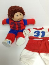 1984 Vtg Coleco Cabbage Patch Doll Aristotle Dan Jersey #31 track suit shoes - $24.75