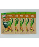 Knorr Goracy Kubek SOUP in a MUG: Chanterelle mushrooms from Poland-Pack of 5 - - $9.41