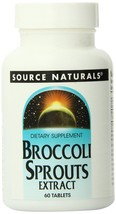 Source Naturals Broccoli Sprouts Extract x 60 Vegetarian Tablets - $31.43
