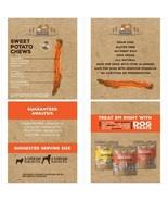 12 oz Single Ingredient Natural Nutrition Sweet Potato Dog Treats, 2 pk ... - $27.73
