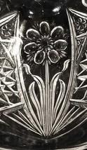 Domed Butter Dish Imperial La Rochelle  474 Fringe Flower Serrated Rim c... - $22.95