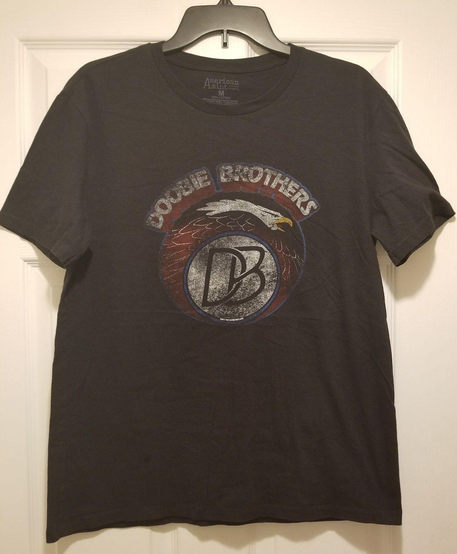 New doobie brothers eagle logo adult medium t shirt 39 87 us for Adult medium t shirt