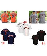 Men's Houston Astros # 2 Alex Bregman Cool Base Series Jersey - $40.99