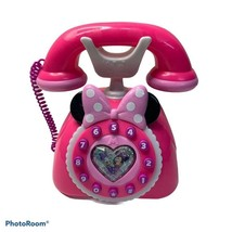 Disney Minnie Mouse Phone Happy Helpers Talking, Lights Toy Pink Phone W... - $21.00