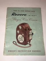 Antique Revere -- Eight  Ranger Cine Camera Owner's Instruction Manual - $8.10
