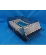 "Rolodex CBC-200 Covered Card File Black 200 - 2.25""x4"" Blank Cards A-Z I... - $14.84"