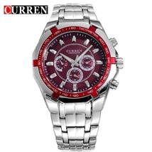 Watch CURREN Casual Military   Wristwatch Full Steel Waterproof Men's Clock Re - $46.06