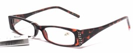 Clearance  Women L D OPTICAL READING EYEGLASSES & POUCH Ladies +2.75 Tor... - $10.50