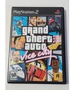 Grand Theft Auto: Vice City GTA - PlayStation 2 PS2 Black Label CIB Comp... - $15.79