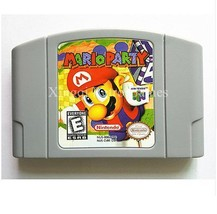 Nintendo 64 Mario Party Video Game Cartridge Console Card English Language - $32.67