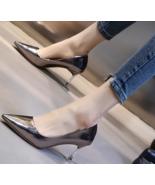 Elegant Pointy pump, 7 cm heels, US size 4-8.5, gun - $62.80