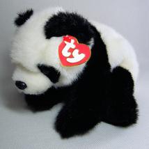 Ty Beanie Buddies BAMBOO Plush Panda w/Tags 1997 Retired - $8.00