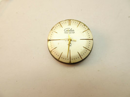 1960'S SLAVA ACCUTRON TUNING FORK WATCH MOVEMENT PLUS BACK AND DIAL TO R... - $555.57