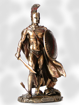 Leonidas with Sword & Shield Big Beautiful Bronze * *Free Air Priority Shipping - $107.91