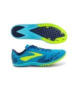 Brooks Carpe Runem Mach 18 Spike Track Shoes 110237-1D-453 Men's Size 7.5 - $69.29