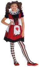 Playing Card Cutie - Wonderland Halloween Costume - Girls Medium 8-10 New - $19.99