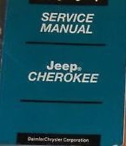 2001 Jeep Cherokee Service Repair Shop Manual Book Factory Book Oem Jeep New - $188.10
