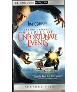 A Series Of Unfortnate Events UMD Movie For PSP - $9.95