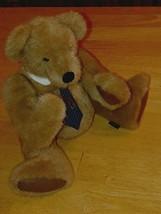 "Boyd's Bears ""Mr. Jones"" Brown 16"" Jointed Boy Bear W/NECKTIE-EXCELLENT-DISPLAY - $20.79"