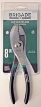 "Brigade BR10700 8"" Slip Joint Pliers - $4.46"