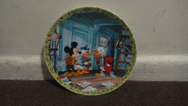 """Collectible Plate - Mickey's Christmas Carol """"What's So Merry About Christmas"""" - $47.00"""