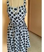 Women's Dress ,XL,,Blue,Polka dot,Lafayette148,NWOT - $89.10