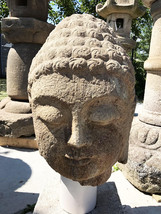 Antique Edo Period Antique Buddha Head - 0701-0006 - $5,500.00