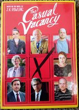 The Casual Vacancy – Sealed DVD - BBC Miniseries by J.K Rowling – Free S... - $5.99