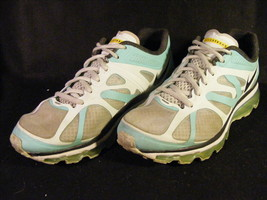 Women's Nike Air Max + 2012 Livestrong White/Mint Running Shoes 487992-3... - $19.39