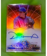 MLB DEREK HOLLAND TEXAS RANGERS AUTOGRAPHED 2014 TOPPS TRIBUTE SP 19/30 ... - £5.81 GBP