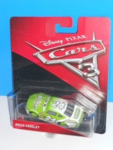 Disney Pixar CARS 3 Movie 2017 Brick Yardley Green & White #24 - $5.29