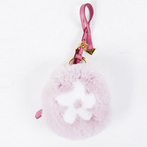 Prada Rabbit Fur Daisy Coin Keychain - $260.00